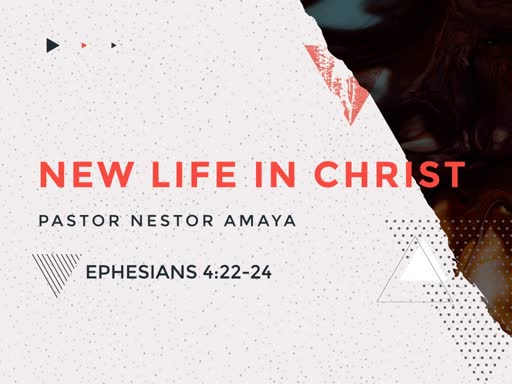 July 28, 2019 - New Life In Christ