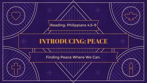 Introducing: Peace
