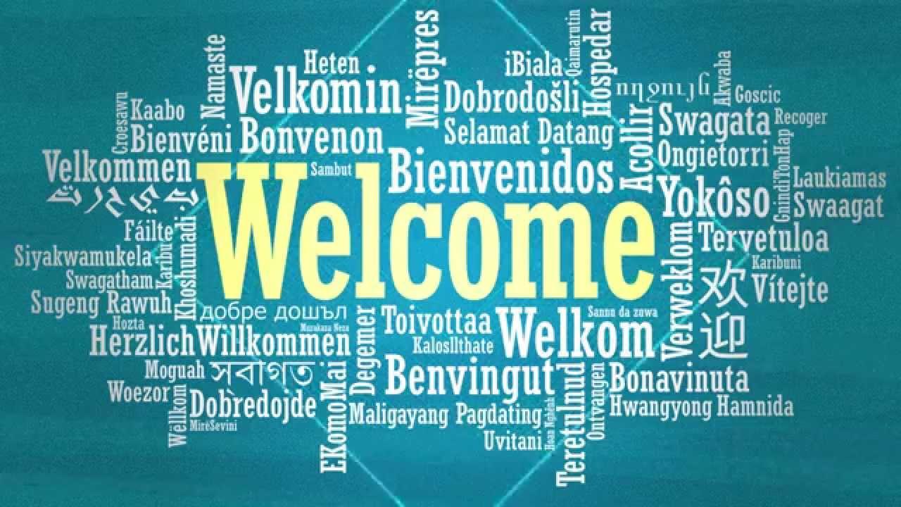 Welcome Language