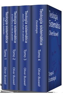 Teología sistemática de Buswell (4 Tomos)