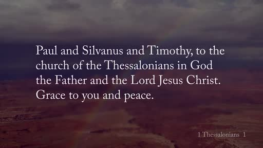 1 Thessalonians 1