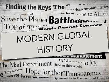 Modern Global Histoyr