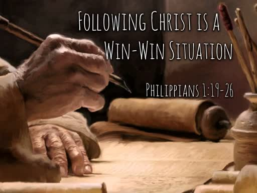 Following Christ is a Win-Win Situation