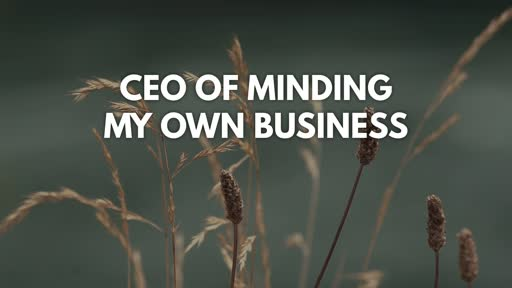 CEO of Minding my Own Business