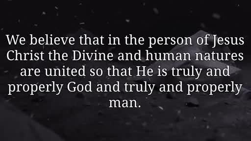 We Believe - Jesus