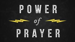 The Power of Prayer 16x9 PowerPoint Photoshop image