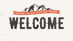Faith Moves Mountains welcome 16x9 PowerPoint Photoshop image