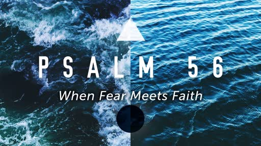 Wednesday, August 7 - PM - Jack Caron - When Fear Meets Faith