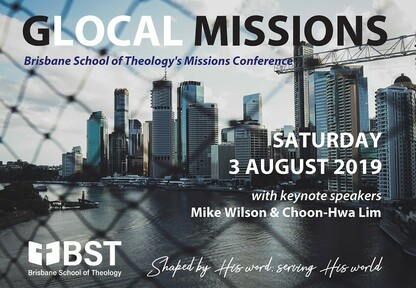 GLOCAL MISSIONS: BST Mission Conference 2019
