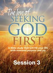 Joy Of Seeking God First Session 3 - Key Principles Part 2