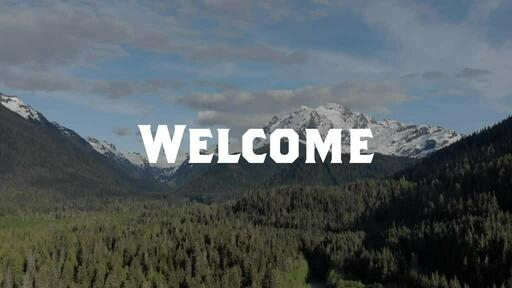 Drone Mountains - Welcome