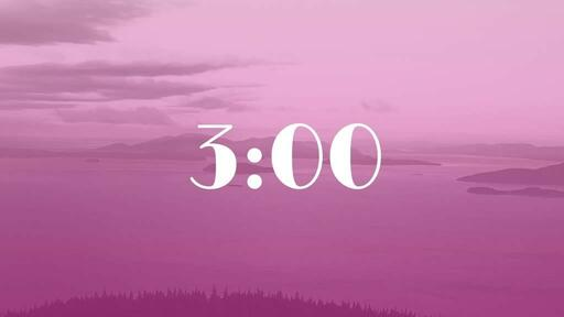 Pink Mountains - Countdown 3 min