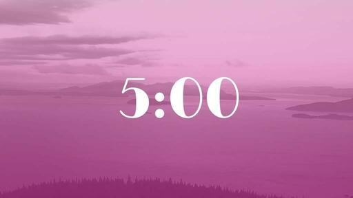 Pink Mountains - Countdown 5 min