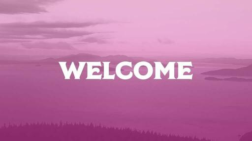 Pink Mountains - Welcome