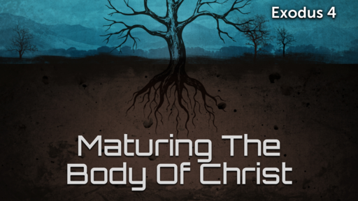 Maturing The Body Of Christ Pt.4
