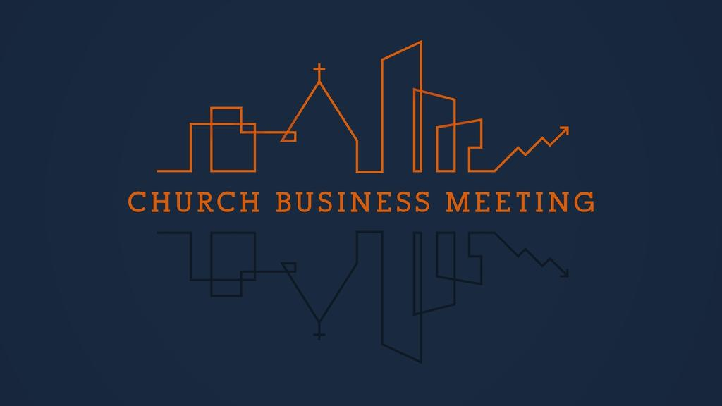 City Scene Church Business Meeting large preview