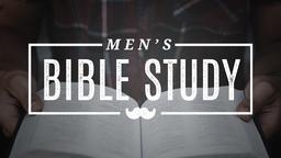 Mustache Men's Bible Study  PowerPoint Photoshop image 1