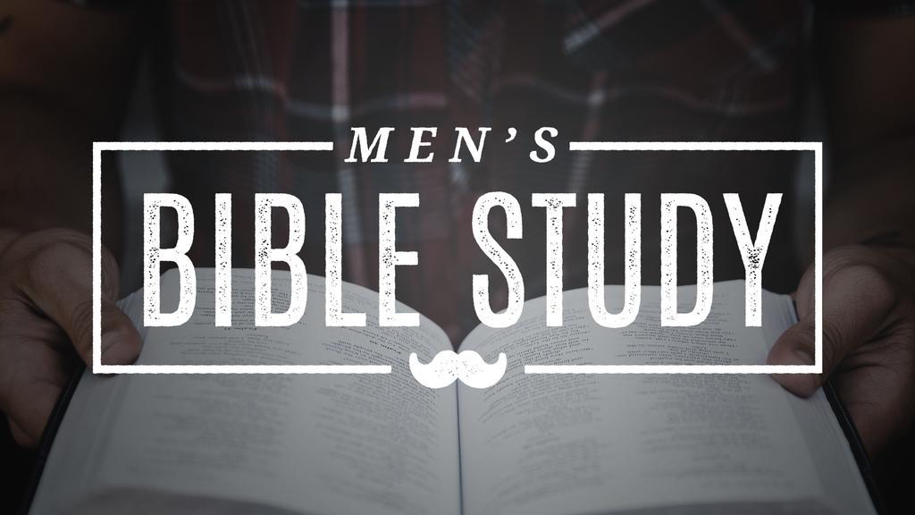 Mustache Men's Bible Study large preview
