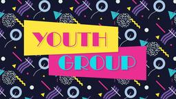 Retro Youth Group 16x9 PowerPoint Photoshop image