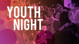 Youth Night announcement 16x9 PowerPoint Photoshop image