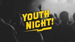 Worship Youth Night 16x9 PowerPoint Photoshop image