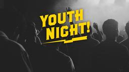 Worship Youth Night announcement 16x9 PowerPoint Photoshop image