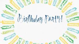 Birthday content d PowerPoint Photoshop image