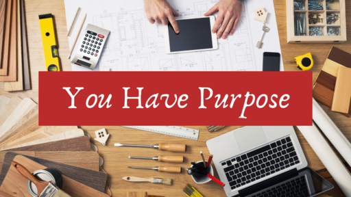 You Have Purpose