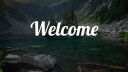 Rest for the Weary welcome 16x9 PowerPoint image