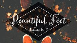 Beautiful Feet  PowerPoint image 1