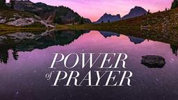 Power of Prayer 16x9 PowerPoint image