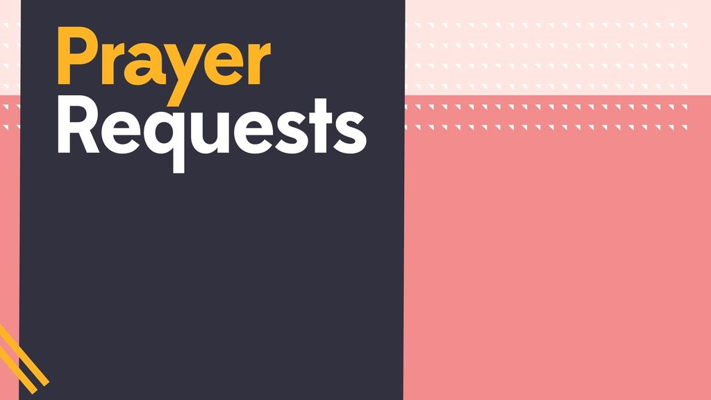 Bright Prayer Requests large preview