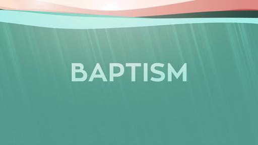 Baptism Lake - Baptism Title Loop