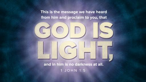 1 John 1:5 verse of the day image