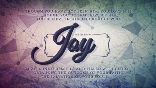1 Peter 1:8–9 verse of the day image