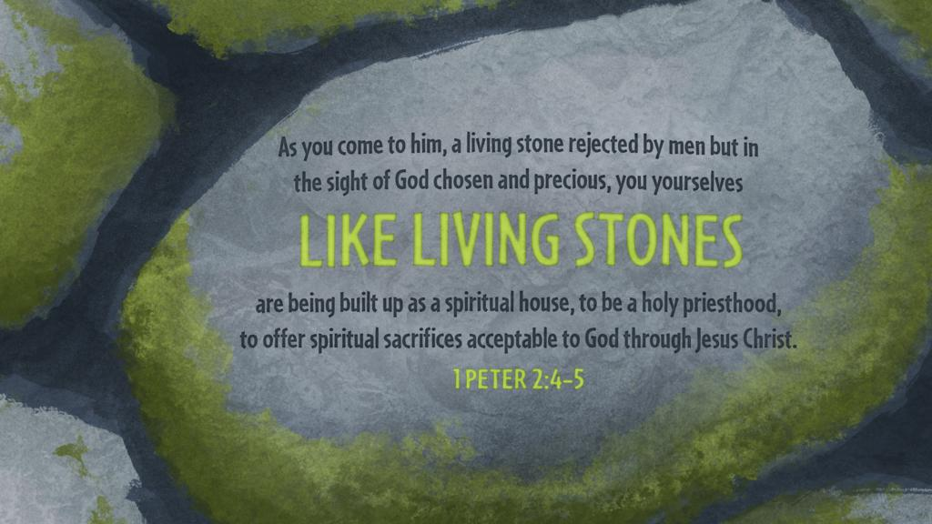 1 Peter 2:4–5 large preview