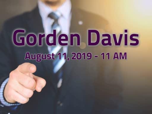 August 11, 2019 - 11AM