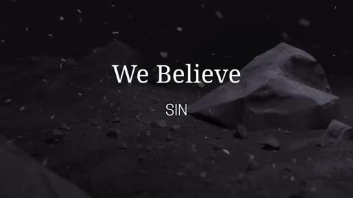 We Believe - Sin