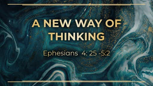 Week 9 - A New Way of Thinking pt.2