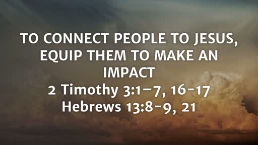 Equip Them To Make an IMPACT