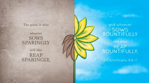 2 Corinthians 9:6–7