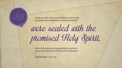 Ephesians 1:13–14 verse of the day image
