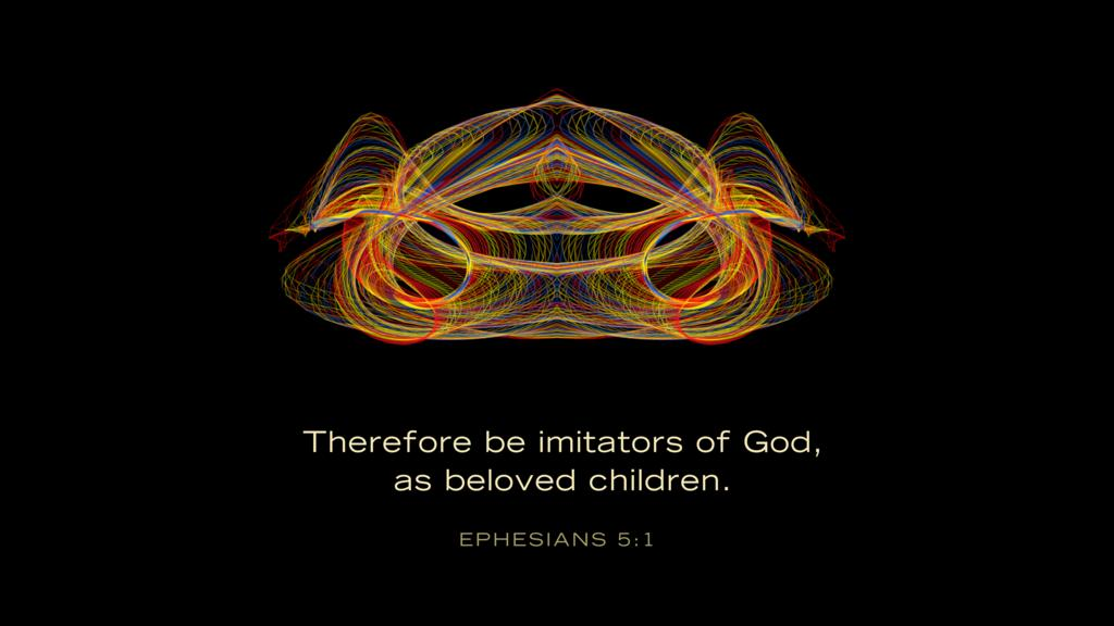 Ephesians 5:1 large preview