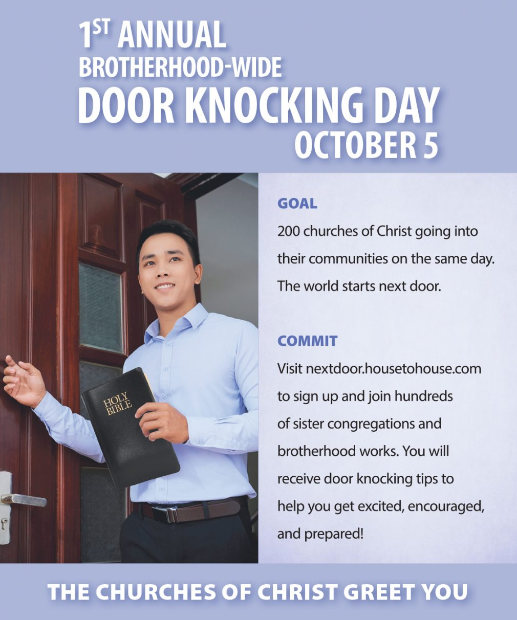 Doorknocking Day Ad For FB-1010X1212