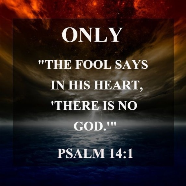 """Psalm 14: """"The Fool"""""""