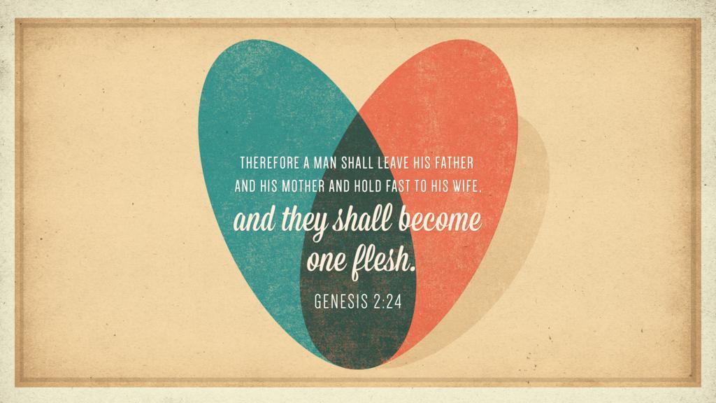Genesis 2:24 large preview