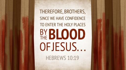 Hebrews 10:19 verse of the day image
