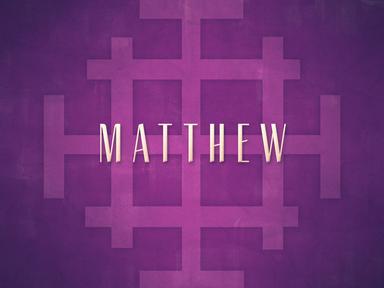 Matthew Overview