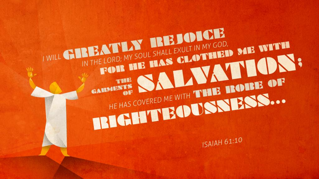 Isaiah 61:10 large preview