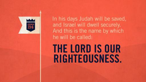 Jeremiah 23:6 verse of the day image